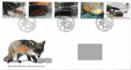 GREAT BRITAIN 1992 The Four Seasons/Wintertime: First Day Cover CANCELLED - 1991-2000 Dezimalausgaben