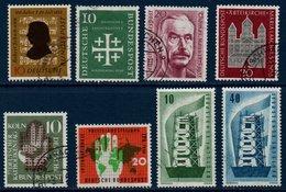 RFA 1956  Petit Lot De Timbres Oblitérés Entre N° Michel  234 Et 242 - [7] Federal Republic