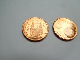 Piéce 5 Centimes Euro , Espagne , Espana , 2008 - Spain