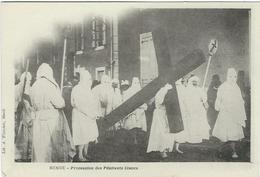 LOZERE : Mende, Procession Des Pénitents Blancs - Mende