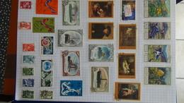 B384 Collection Timbres Oblitérés Et Environ 200 Blocs D'URSS. A Saisir !!! - Collections (with Albums)