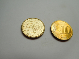 Piéce 10 Centimes Euro , Espagne , Espana , 2005 - Spain
