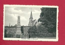 C.P. Hanzinne =  Eglise  Et  Monument  1914-1918  Et  1940-1945 - Florennes