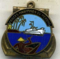 Insigne Force Militaire Du MEKONG___drago O.Metra - Marine