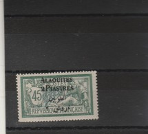 Alaouites Yvert 9 * Neuf Avec Charnière - 2 Scan - Alaouites (1923-1930)