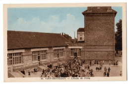 CPA 91 - VIRY CHATILLON (Essonne) - 85. L'Ecole De Filles - Ed. J. Aubel - Viry-Châtillon