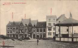 Belgique , Cpa  LA PANNE , Le Boulevard De Nieuport , Série 41 N. 70  (Fr.16951) - De Panne