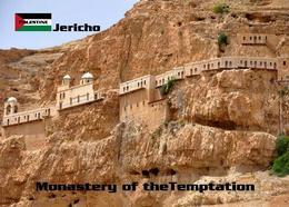 Palestine Jericho Monastery Of The Temptation New Postcard Palästina AK - Palestine
