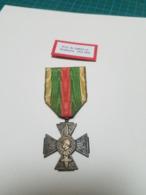 Croix Du Combattant Volontaire 14-18 - France