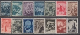 Bulgaria 1942 - Serie Historique, YT 406/19, MNH** - 1909-45 Reino