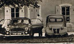 Aouze (88) / Maison De La Colonie / Peugeot 403 Et Citroën 2 CV Fougonnette / Ed. CAP - PKW