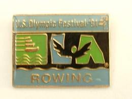 PIN'S AVIRON - ROWING - U.S OLYMPIC FESTIVAL 91 - Aviron
