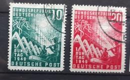 BRD 1949, Mi 111-112 Gestempelt - [7] Federal Republic