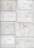 SAUMUR MAINE ET LOIRE  Collection De Marques D'arrivées 13 Pièces  2 Scan - Postmark Collection (Covers)