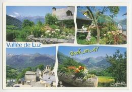 {37999} 65 Hautes Pyrénées La Vallée Du Lys , Multivues ; Les Villages : Sazos Viscos , Sers , Viey - France