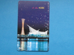 JAPAN TELEPHONE CARD NTT - KOBE Architecture Building 105 331-412 - Giappone