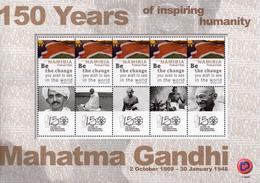 Namibia - 2019 Mahatma Gandhi Sheet (**) - Mahatma Gandhi