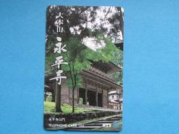 JAPAN PHONECARD NTT 310-091 TEMPLE - Giappone