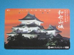 JAPAN PHONECARD NTT 310-019 SUNSET CASTLE - Giappone