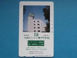 JAPAN PHONECARD NTT 110-011 BUILDING - Giappone