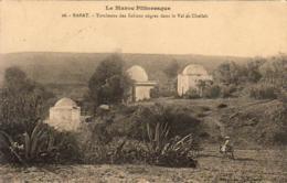 MAROC  RABAT  Tombeau Des Sultans Nègres Dans Le Val De Chellah  ..... - Rabat