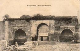MAROC  MEQUINEZ  Porte Bab Bouamaïr   ..... - Meknès