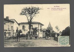 TEULAT Canton LAVAUR  La Place De L'église - Autres Communes