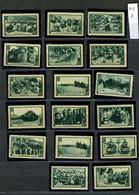 ESPAÑA   35 Viñetas  AUS  AMIGOS DE LA UNION SOVIETICA  P1P2 - Spanish Civil War Labels