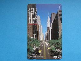 JAPAN PHONECARD NTT 231-067 CITY CARS - Giappone