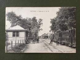 RETHEL- Gare Du  C.B.R. - Rethel