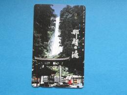 JAPAN PHONECARD NTT 330-186 WATERFALL - Giappone
