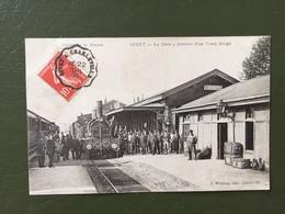 GIVET-La Gare-Arrivée D'un Train Belge - Givet