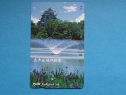 JAPAN PHONECARD NTT 291-166 NAGOYA CASTLE - Giappone
