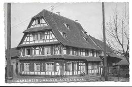 67 - GAMBSHEIM MAISON ALSACIENNE - Gambsheim