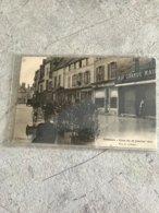 77  Nemours Crue 1910 Rue Du Chateau Commerces Chaussures Lingerie - Nemours