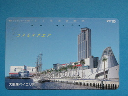 JAPAN PHONECARD NTT 331-403 CITY BOATS - Giappone