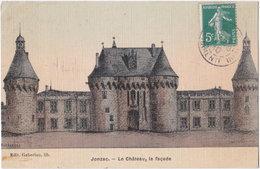 17. JONZAC. Le Château, La Façade - Jonzac
