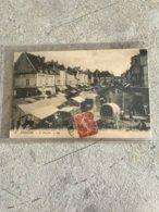 77  Nemours 1917 Le Marche Etals Charrettes Commerces Charbons  ... - Nemours