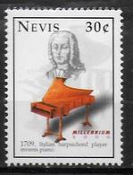 NEVIS  N° 1306 * *  Millennium  Musique Clavecin - Musique