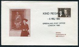 1980 Greenland GB London Philatelic Exhibition Cover. Slania - Groenland
