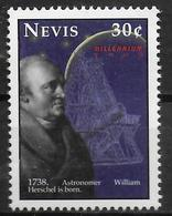 NEVIS  N° 1308 * *  Millennium Astronome William Herschel - Astronomùia