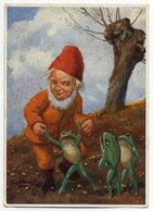 P.L.Müller, Zwerg, Frösche - Illustratori & Fotografie