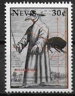 NEVIS  N° 1311 * *  Millennium Maladie Peste Bubonique En Autriche Et En Allemagne - Enfermedades
