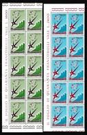 1958 San Marino Saint Marin BRUXELLES 10 Serie Di 2v. MNH** - Saint-Marin