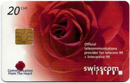 Switzerland - ITU Geneva Interactive '99 Promo, 20Fr, Unused - Zwitserland