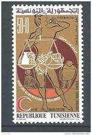 "Tunisie YT 800 "" Croissant-Rouge "" 1975 Neuf** - Tunisia"