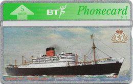 UK - BT - L&G - BTG-512 - Great British Liners, RMS Parthia - 505C - 5Units, 1.000ex, Mint - Reino Unido