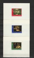 Togo 1968 Paintings Raphael - Raffael, Rembrandt, Michelangelo, WHO Set Of 6 S/s Imperf. MNH -scarce- - Art