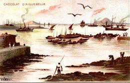 CHOCOLAT D AIGUEBELLE  BOMBAY - Publicité