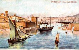 CHOCOLAT D AIGUEBELLE  MARSEILLE - Publicité
